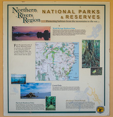 National Parks Information (Serendigity) Tags: newsouthwales lighthouse coastal australia sign byronbay capebyron nsw