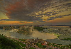 Niagara Falls sunset (cmfgu) Tags: niagarafalls ontario canada waterfall americanfalls horseshoefalls canadianfalls sunset towerhotel hdr highdynamicrange bridalveilfalls goatisland niagaragorge sunrise dusk dawn twilight goldenhour bluehour colorful clouds craigfildesfineartamericacom art wall canvasprint framedprint acrylicprint metalprint woodprint greetingcard throwpillow duvetcover totebag showercurtain phonecase sale sell buy purchase gift craigfildes artist photographer photograph photo picture prints