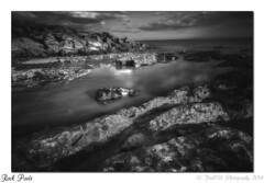 Rock Pools (Fred255 Photography) Tags: uk longexposure sea england blackandwhite seascape beach water canon landscapes usm manfrotto saltdean haida waterscapes markiii llens ef1740mmf4lusm nd1000 canoneos1dsmarkiii leeholder ©fred255photography2014