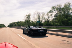 6.7.14 Aventador/458 Shoot (Matthew Groner) Tags: chicago spider ferrari lamborghini roadster 458 aventador