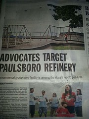Front page of Courier