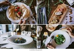 Tasty (carinamilk) Tags: food moon fish work canon menu pepper soup vine tasty pasta foodporn tapas