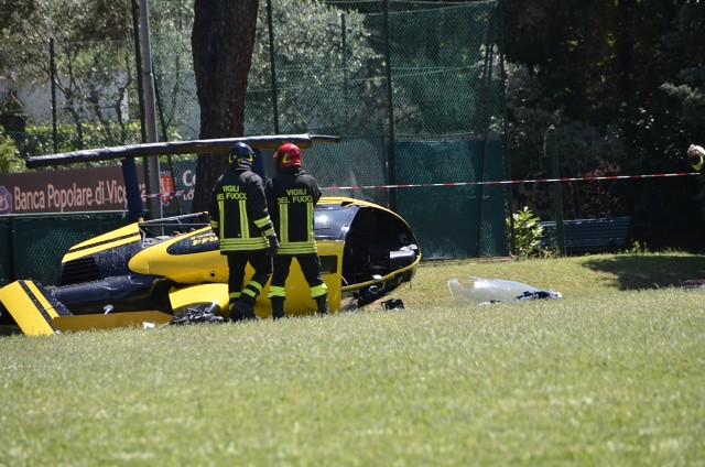 Elicottero Edile : Elicottero caduto la procura indaga per disastro aereo