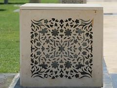 Intricate carving work in stone (Rahul Gaywala) Tags: art stone wonder amazing dubai minaret muslim culture grand mosque carving zayed abudhabi marble abu dhabi sheikh minarets inlay amaze moslim namaz quaran
