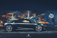 Audi R8 V10 Spyder (khalid.bari80) Tags: lightpainting night graffiti automotive spyder exotic audi supercar v10 r8 revvtop10