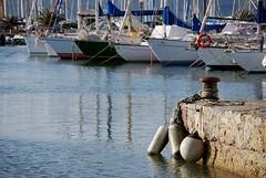 Alghero - porto - Sardegna (Blue Sere) Tags: sea boats dock mare barche porto bollard buoy alghero bitte boe