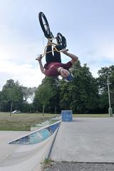 toby ford - Barrol roll (Ed Ballingal) Tags: bike nikon bmx skatepark skate biking trick boxing backflip reigate d600