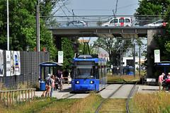 AEG GT6N #2138 MVG München (3x105Na) Tags: germany munich münchen bayern deutschland tram 23 strassenbahn tramwaj aeg mvg niemcy 2138 gt6n