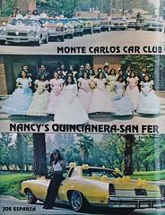LOWRIDER Oct. 1979 (KID DEUCE) Tags: wedding magazine october bomb 1979 lowrider quincianera