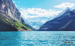 Lake Louise Alberta (Simran Janjua) Tags: travel lake canada rockies places visit canadian explore louise alberta traveler