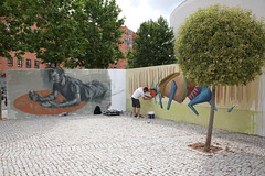 SALALACALLE FESTIVAL ARTE CALLE (7) (Ayuntamiento de Fuenlabrada) Tags: festival graffiti mural arte manuel urbano robles guerrilla ayuntamiento fuenlabrada exposicin alcalde actividad salalacalle