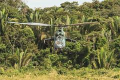 Decolar para caçar. (Johnson Barros) Tags: color brasil canon cores selva floresta cor helicoptero portovelho aeronave rondônia forcaaereabrasileira interceptador milmi35 fotojohnsonbarros ah2sabre interceptacao