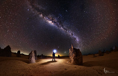 Distant Lands (erax7) Tags: astrophotography perth pinnacles milkyway nambung