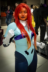 A little Starfire Cosplay at C2E2 2014 (chris favero) Tags: chicago comics cosplay 7d starfire c2e2 eos7d c2e22014 2014c2e2cosplaycomics
