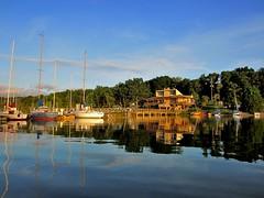 Hamilton Creek Marina (seantheriot) Tags: lake creek marina tn nashville tennessee hamilton priest sailboats percy ppyc 20140628canonhs300b