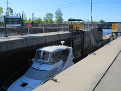 In the lock (jamica1) Tags: ontario canada port canal lock 45 historic severn trent waterway