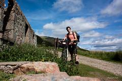 Me on my bike trip in Schotland (Remco van Adrichem Photography) Tags: blauw schotland