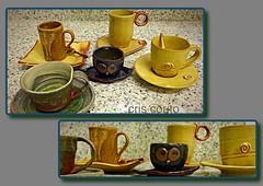 """Xcaras do evento """" vai um cafezinho"""" (cris couto 73) Tags: cup handmade cermica clay mug pottery xcara criscouto"""