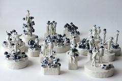 fungi town (anewdawnanewday) Tags: sculpture mushroom ceramics fungi