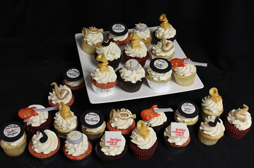 Berklee College of Music Cupcakes