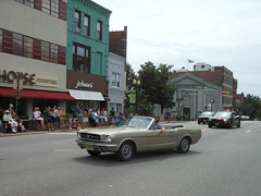 Ford Mustang Convertible, 2014 Montclair Independence Day Parade (smaginnis11565) Tags: ford newjersey essexcounty convertible parade montclair independenceday fordmustang furniturestore 7414 hamptonhouse bloomfieldavenue mark1mustang