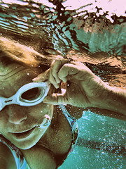 Diving into summer ~ Explore (Shelby's Trail) Tags: summer pool last fun underwater good clean explore selfie hss sliderssunday