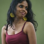 Meena Kandasamy photocall at the Edinburgh International Book Festival