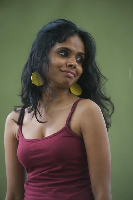 Meena Kandasamy photocall at the Edinburgh International Book Festival