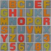 Foam Play Mat smooth alphabet (Leo Reynolds) Tags: xleol30x fdsflickrtoys photomosaic mosaicalphanumeric abcdefghijklmnopqrstuvwxyz0123456789 0sec alphabet alphanumeric letterset groupfd hpexif xx2014xx