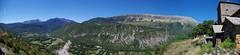 Vista panorama Chía. (Rafael Jiménez) Tags: panoramic sos panorámica sierradechía ésera aboutiberia soshuesca