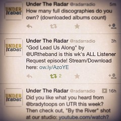 "We are stoked to be on @radarradio ! And to have been this weeks ""All Listener Request"" is also very very cool! Thanks for requesting us!!! #urtheband @urtheband • <a style=""font-size:0.8em;"" href=""https://www.flickr.com/photos/34489975@N08/14816727748/"" target=""_blank"">View on Flickr</a>"
