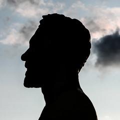 Gustave EIFFEL (ericbeaume) Tags: silhouette statue nikon eiffel 18105mm d5100 ericbeaume