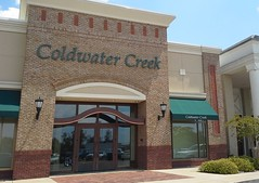 Coldwater Creek (exterior closeup) (l_dawg2000) Tags: old retail vintage mall mississippi sears ms 1990 90s tupelo belk barnescrossing enclosedmall