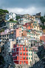 Riomaggiore, Cinque Terre (Fred_78) Tags: maisons cinqueterre italie faades