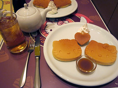 Hello Kitty's Pancake Party, Sanrio Themed Restaurant - Odaiba, Tokyo (cutetravels) Tags: pink cute japan tokyo hellokitty sanrio kawaii odaiba