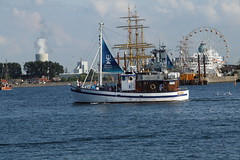 HanseSail 2014 in Rostock (Vitalis Fotopage) Tags: sea germany deutschland warnemnde baltic sail ostsee rostock hansesail hanse warnemuende 2014 warnemunde warnow