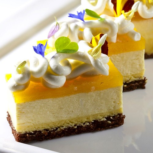 Mango Passion Fruit Mousse Cake Recipe