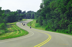 bikers on a winding road (lvphotos!) Tags: friends summer countryside bikers motocycle windingroad