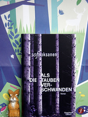 drittes Buch (bornschein) Tags: book trees bunny wood woman writer illustration sofioksanen printed talkingbooks