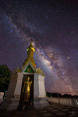 Milky Way with buddha statue (sripfoto) Tags: summer sky glitter night dark way long exposure shine background space cluster wave atmosphere twinkle science calm astro sagittarius sparkle scorpion telescope stellar galaxy nebula astrophotography lyra astronomy outer outerspace universe milky cosmic starry cosmos infinite constellation milkyway vast aquila starlight starfield sagitta nebulae cignus starbright astrophotograph vulpecula