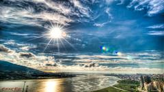 20140821-D4-鑽廣-海大ND64ND4_3353_4_5_6_tonemapped (Eternal-Ray) Tags: sky nikon d af nikkor 台北 f28 d4 2035mm 鑽廣