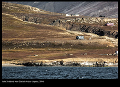 Svalbard - North Pole - Artic Sea (buiobuione) Tags: ocean blue light sunset sea sky people white ice water sunrise blu bluesky villages mining svalbard russian artic northpole polonord marglacialeartico