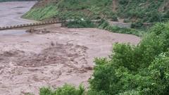 Flash Flood in Poonch River at Gulpur Azad Kashmir 2014 (aazr_caa) Tags: river flood azhar kotli 2014 hussain poonch khuiratta gulpur azharhussain flood2014 azharhashmikhuiratta