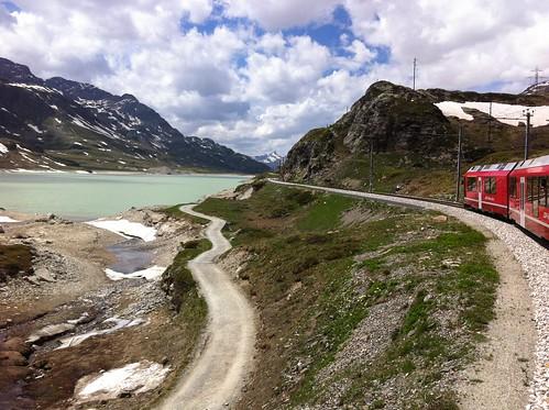 St. Moritz (Engadin) Juni 2014