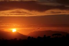 Peaceful sundown... (modestino68) Tags: trees sunset sky mountains alberi clouds montagne tramonto nuvole cielo janhammer