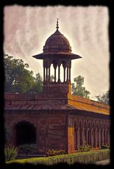 Agra IND - Taj Mahal Chhatri 02