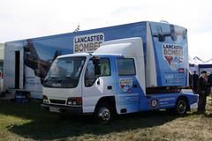 Isuzu NPR Lancaster Bomber Tour X478EBM (NTG's pictures) Tags: show wings tour sunday wheels lancaster and bomber npr dunsfold isuzu 24august2014 x478ebm