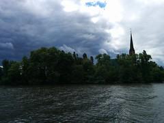 IMG_20140507_115409 (paddy75) Tags: main frankfurtammain duitsland rivier dreikönigskirche mainkai driekoningenkerk