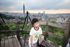 IMG_4612 (JIMI_lin) Tags: sunset 101 taipei 信義區 觀音山 大冒險 虎山峰
