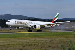 Emirates A6-ENT, OSL ENGM Gardermoen (Inger Bjrndal Foss) Tags: norway emirates boeing 777 osl gardermoen engm a6ent